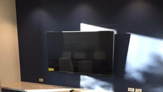 Television lobby area
